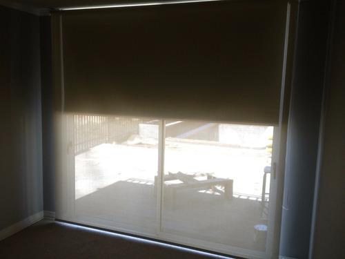 liquidación temporada cortinas rollers black out y scrren
