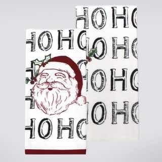 liquidacion ultimas toallas de cocina navideñas
