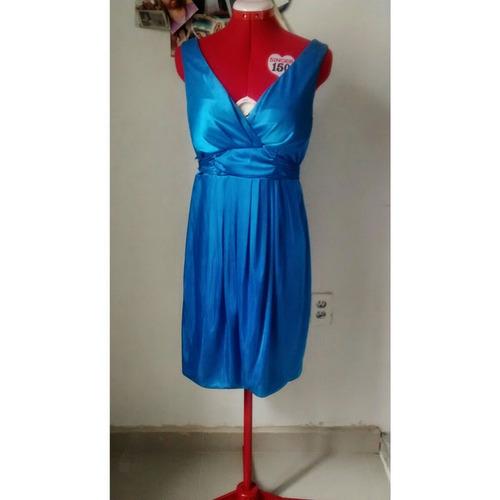 liquidación vestido azul eléctrico