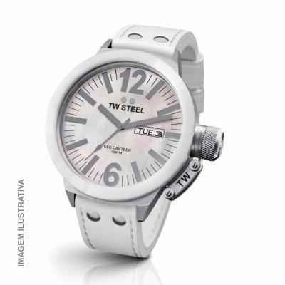 liquidação - relógio tw steel ceo canteen - 45mm - l34/92