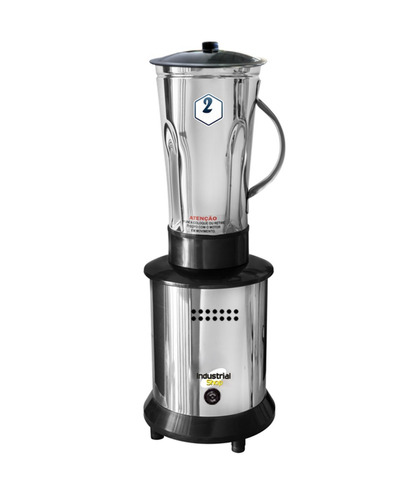 liquidificador 2 litros alta rotação inox 800w ss