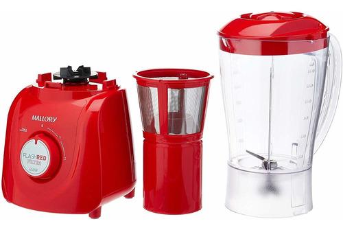 liquidificador flash red mallory