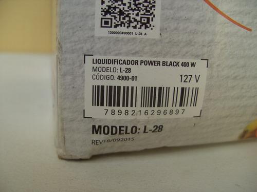 liquidificador mondial 110v (leia anuncio)