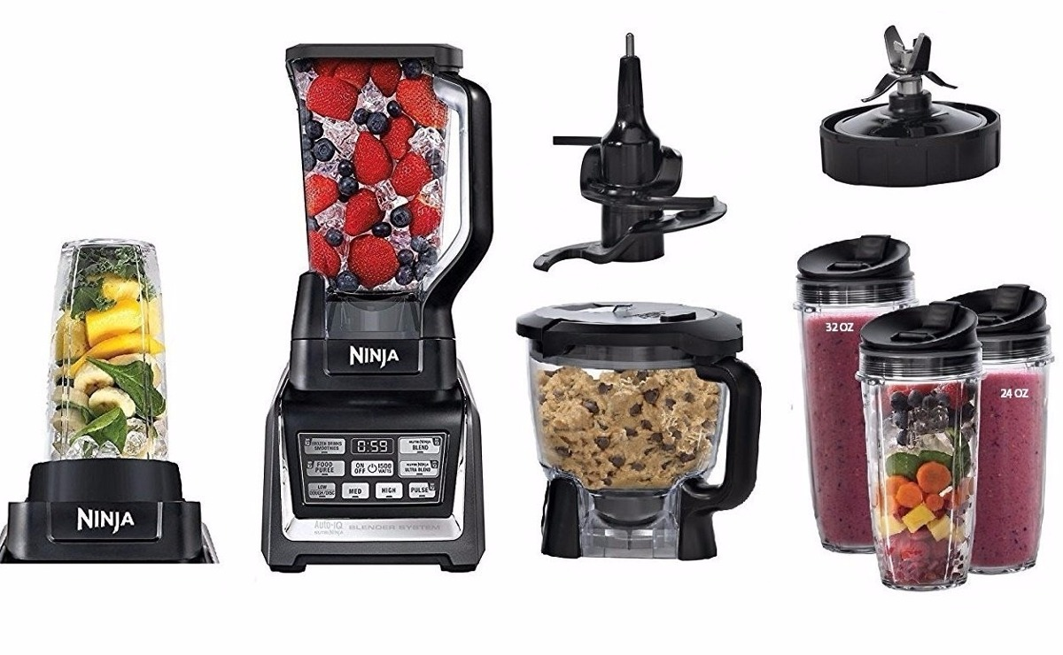 Liquidificador Nutri Ninja Mega Kitchen System 1500w