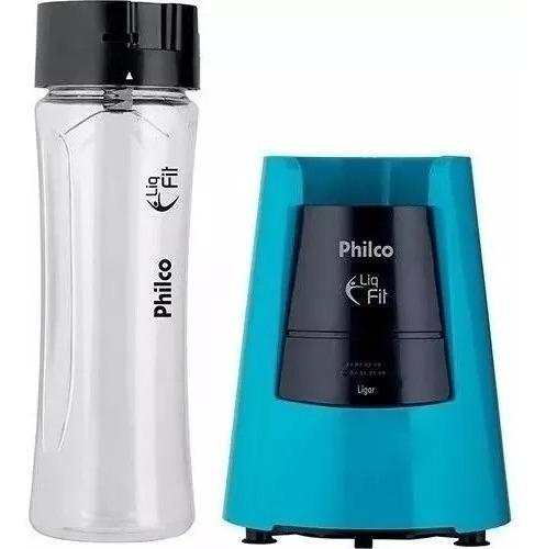 liquidificador portátil philco liq fit com 2 squeezes 220v
