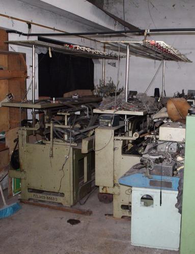 liquido 2 máquinas industrial tejer coreana galga 5 maxmark