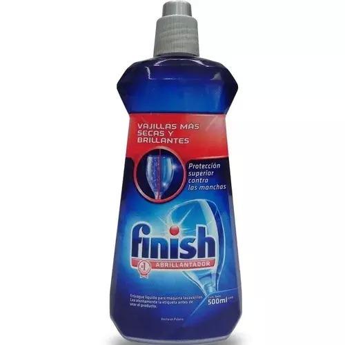 líquido abrillantador para lavavajillas finish (500ml)