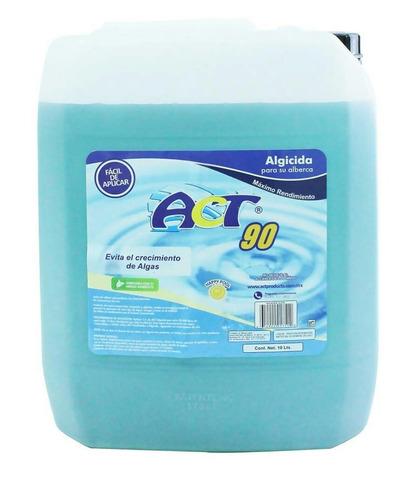líquido alguicida act 90, 10 litros, original, incluye envío