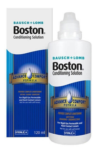 liquido boston advance acondicionador lentes rigidas bausch