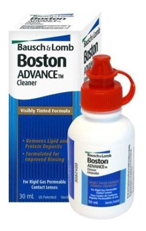 liquido boston cleaner limpiador lentes rigidas bausch lomb