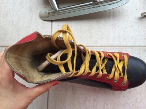 líquido bota patín hielo lico usados liquido