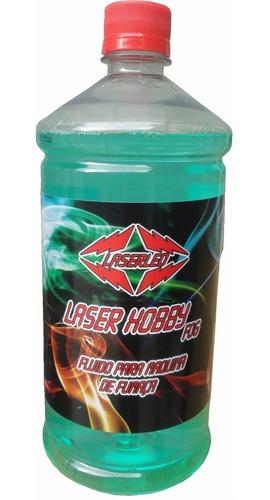 liquido carga de fumaça laser hobby fog 1 litro laserled