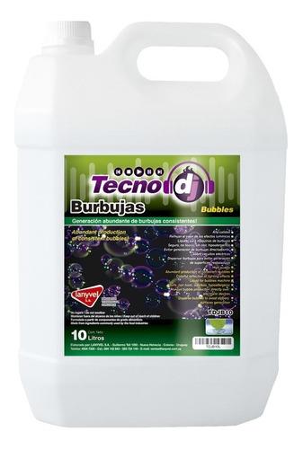 liquido de burbujas 10 litros / lanyvel / tecno dj