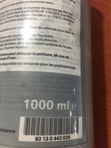 líquido de frenos original bmw dot 4. 1,000 ml