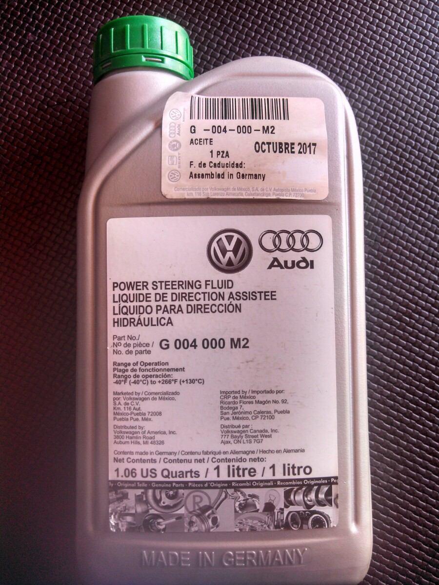2018 Honda Accord Pictures >> Liquido Dirección Hidráulica Vw Audi Seat Porche - $ 299 ...