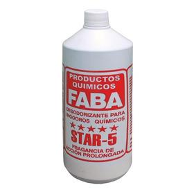 Líquido Disgregante Para Inodoro Químico Portatil Faba