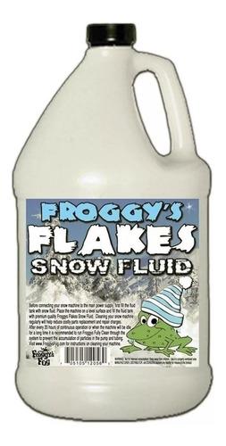 liquido especial p/ maquina d nieve artificial froggys fog