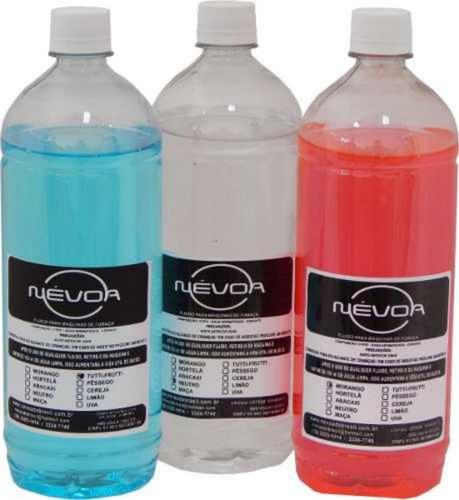 liquido / fluido para maquina de fumaça profissional 1 litro