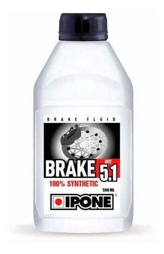 liquido freno ipone 100% sintetico brake dot 5.1 - cuotas