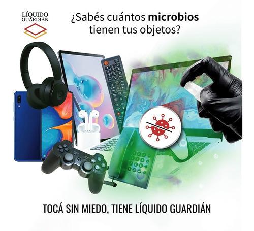 liquido guardian recubrimiento antiviral antibacterial 10ml