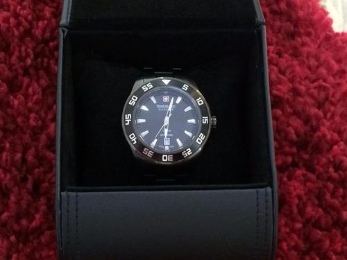liquido  hermoso reloj swiss military hanowa (solo este mes)