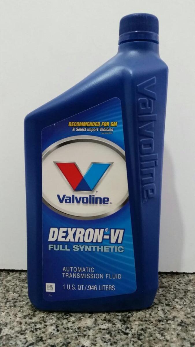 Liquido Hidraulico Valvoline Dexron 6 Atf 0,946cc