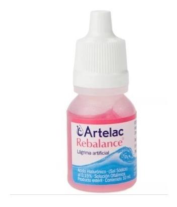 liquido lagrima artelac rebalance 10 ml bausch lomb