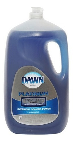líquido lavatrastes dawn platinum poder avanzado 2.66 l