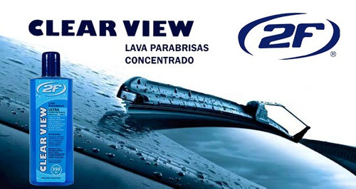 líquido limpia lava parabrisa - clear view 2f - no venta