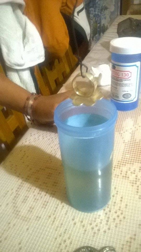 liquido limpiador de joyeria