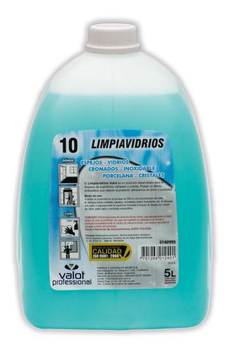 liquido limpiavidrios x 5 lts | valot oficial