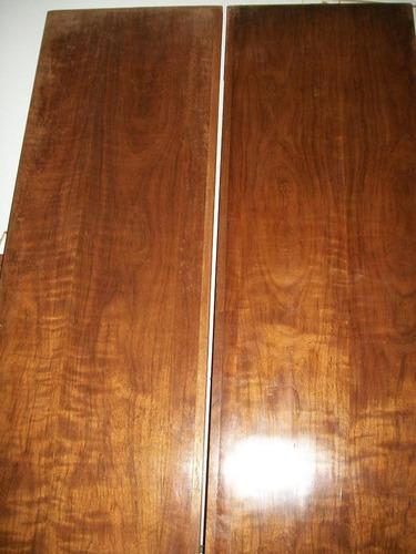 liquido lote de 2 madera de nogal indio de modular desarmado