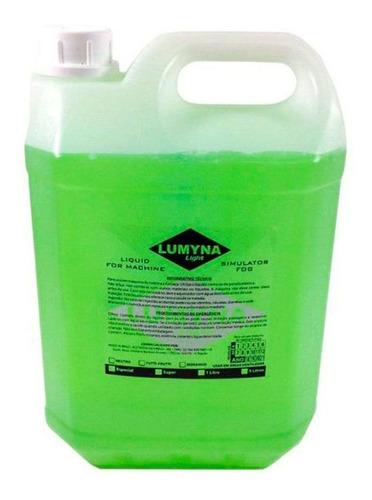 líquido máquina de fumaça lumyna light ls5 morango 5 litros