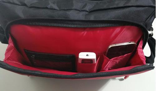 liquido!!! morral portanotebook 13,6¨ insider importado!!!