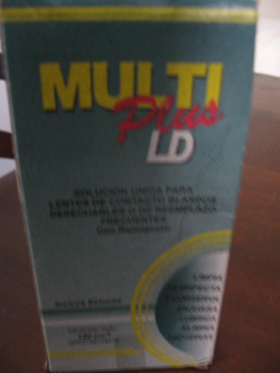 7dd33ad4b5 líquido multiplus 120ml con estuche para lentes de contacto. Cargando zoom.