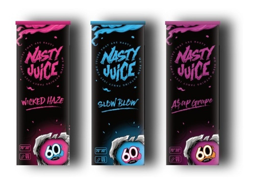 liquido nasty juice version lata vaper cigarro electronico