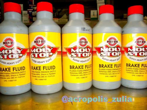 liquido o fluido o liga de frenos molyven dot3 alta calidad