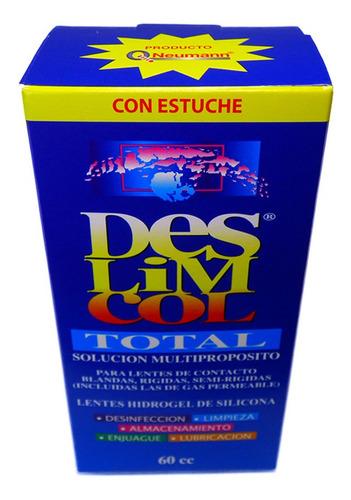 liquido para lentes de contacto deslimcol 60ml