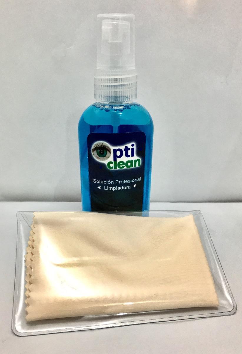 Liquido para limpiar lentes y 2 micro fibras en - Como limpiar los cristales para que queden perfectos ...
