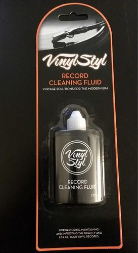 líquido para limpiar vinilos