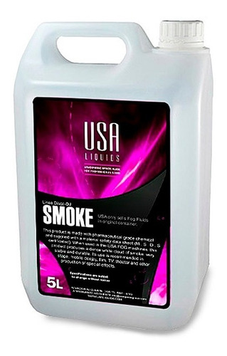 liquido para maquina de humo 5lt usa liquids profesional