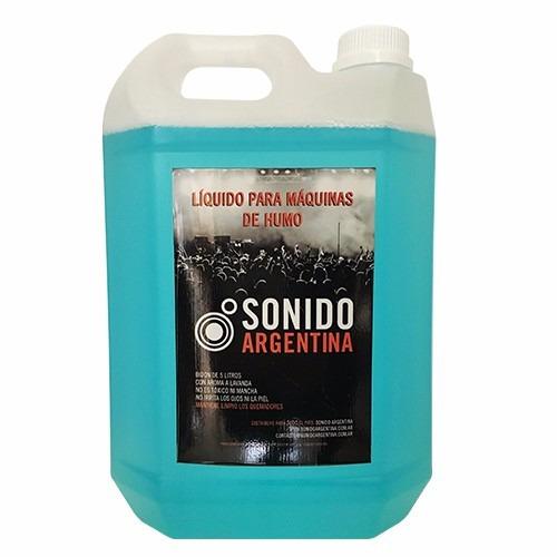 liquido para maquina de humo - bidon 5lts - aroma lavanda