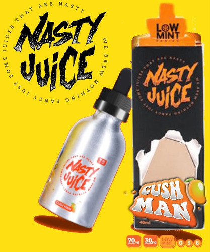 liquido para vapeador nasty juice cigarrillo electronico