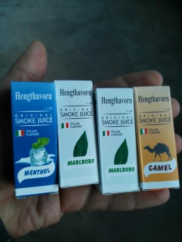 líquido p/cigarro vappers10ml sin nictina  6 sabores hangth