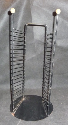 liquido porta cd de metal de apoyo