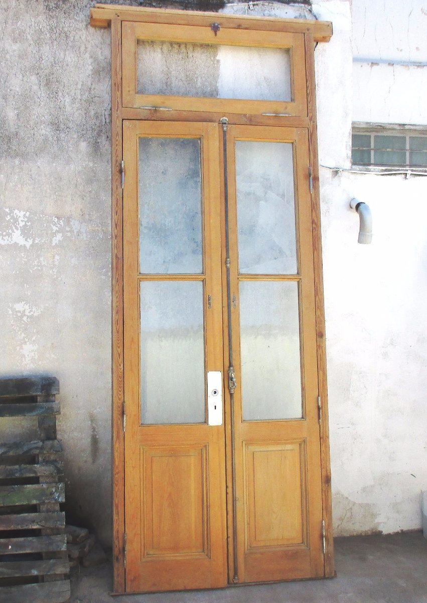 Liquido Puerta Pinotea Doble Hoja Antigua, Ventiluz-lavada - $ 9.500 ...