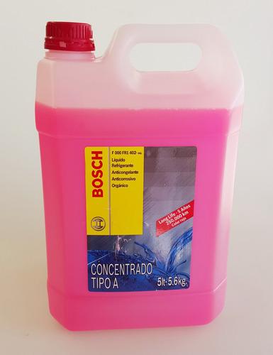 liquido refrigerante y anticongelante organico bosch 5 lts