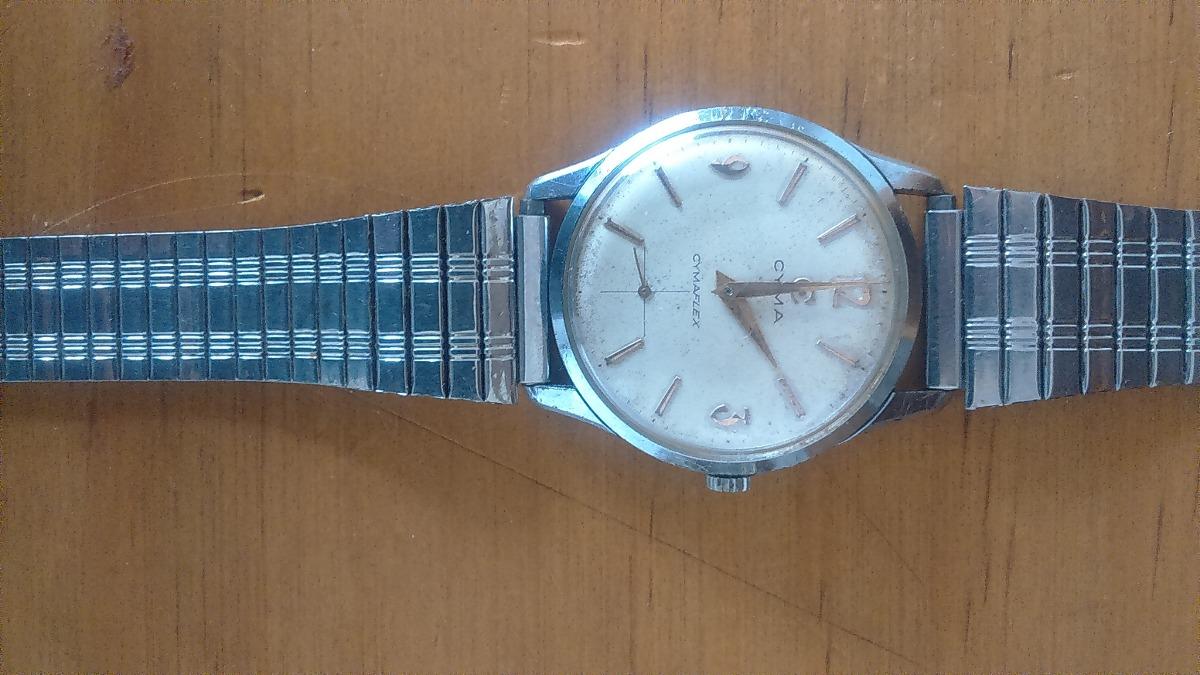 b7be167bfcf5 Liquido Reloj Cyma Cymaflex A Cuerda De Hombre -   38.000 en Mercado ...