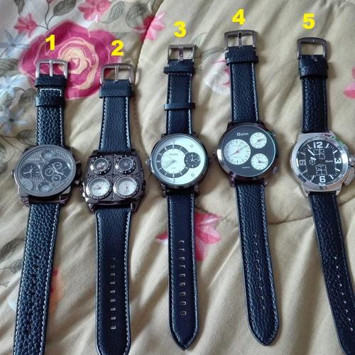 liquido!!! relojes oulm 5 modelos