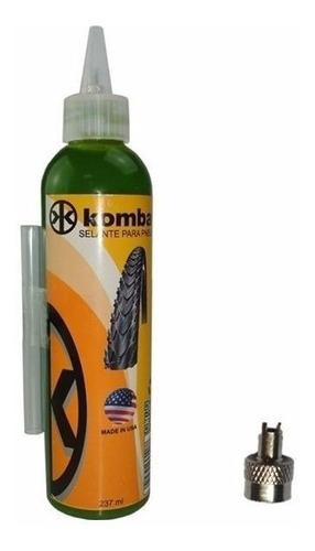 líquido selante kombat para  pneus e camaras bike